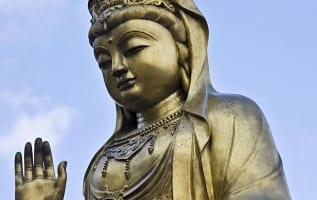 Quan Yin Statue as feng shui cure at your home