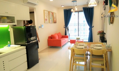 Lovely apartment 2 bedrooms for rent at Saigon Royal Residence in District 4 free Gym and Swimming pool