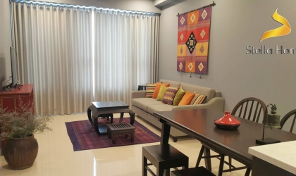 Nice apartment 2 bedrooms in The Tresor – district 4 for rent