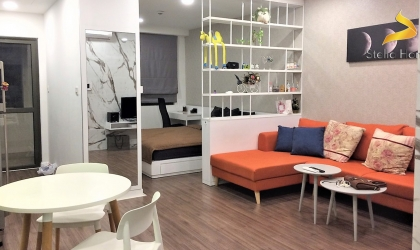 Fully Furnished Large Studio At Icon 56 Closed To District 1, Free Gym And Pool