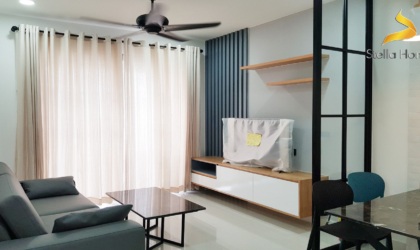 Luxury apartment for rent at Saigon Royal in District 4 86 sqm and the best view