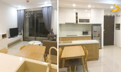 Apartment 2 bedrooms for rent at The Tresor in District 4, close to City center