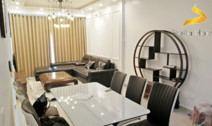 Luxury apartment 3 bedrooms for rent in The Tresor building, close to Bitexco Tower