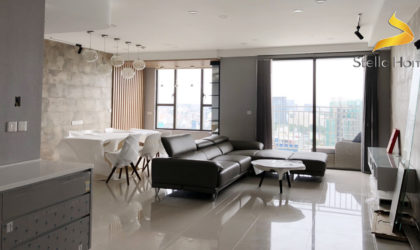 Apartment 3 bedrooms for rent city view directly at The Tresor building