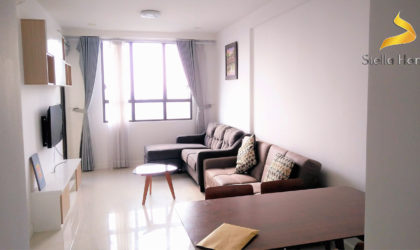 Modern apartment on high floor 3 bedrooms for lease at Icon 56 in District 4 free Gym and swimming pool