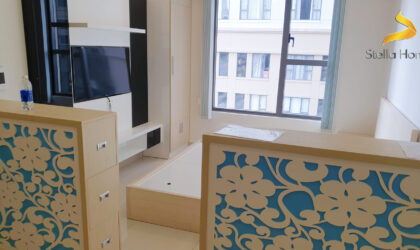 Good decoration apartment single room at Tresor building for rent fully furnished