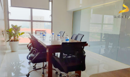 OFFICE FOR LEASE, FULLY FURNISHED AT SAIGON ROYAL DISTRICT 4