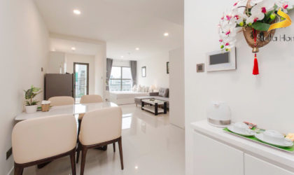 Studio fully furnished for rent at Saigon Royal, great view!
