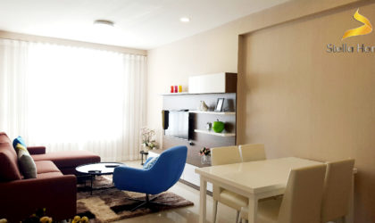 Beautiful apartment for rent at Icon 56 in District 4, 3 bedrooms 2 bathrooms
