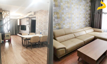 High quality apartment for rent at The Tresor in District 4, 2 bedrooms 2 bathrooms
