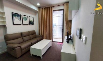 Cho thuê căn hộ 2 phòng ngủ, đầy đủ nội thất, lầu cao và view đẹp