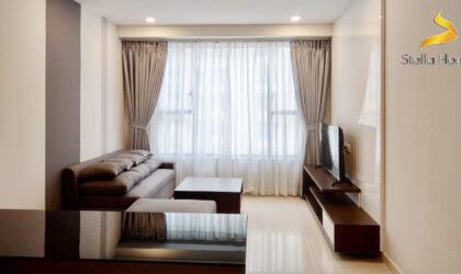 Cho thuê căn hộ 2 phòng tại The Tresor, thiết kế đẹp và chất lượng cao