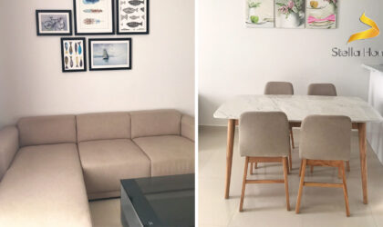 Apartment for rent at The Tresor, 2 bedrooms, 1 bathroom in district 4, close to Bitexco