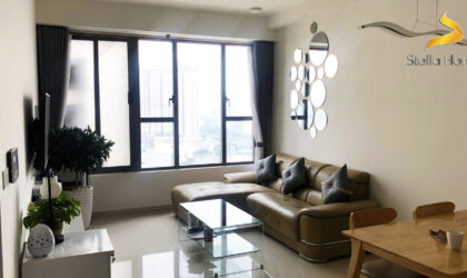 2 bedrooms apartment for rent at The Tresor in District 4, good decoration