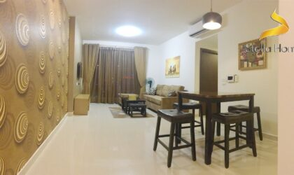 Classical decorate apartment 3 bedrooms in Tresor district 4 for rent