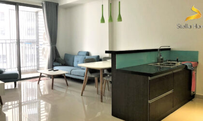 Apartment for rent at The Tresor 2 bedrooms and nice decoration