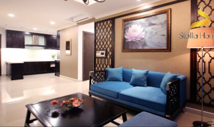 Luxurious apartment with a special design for rent at The Tresor building district 4