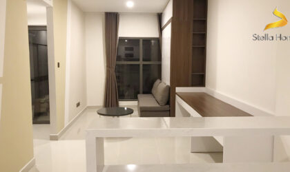 Saigon Royal Residence for rent studio with great view and convenient interior
