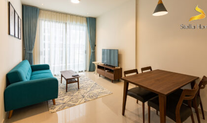 Luxurious apartment 2 bedrooms at Saigon Royal for rent, great view